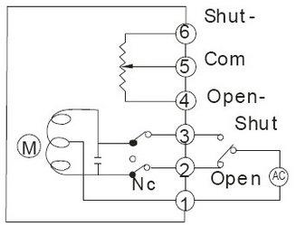 电动阀门接线图说明